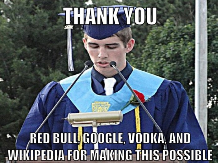 Thank you red bull google vodka and wikipedia for making this possible.
