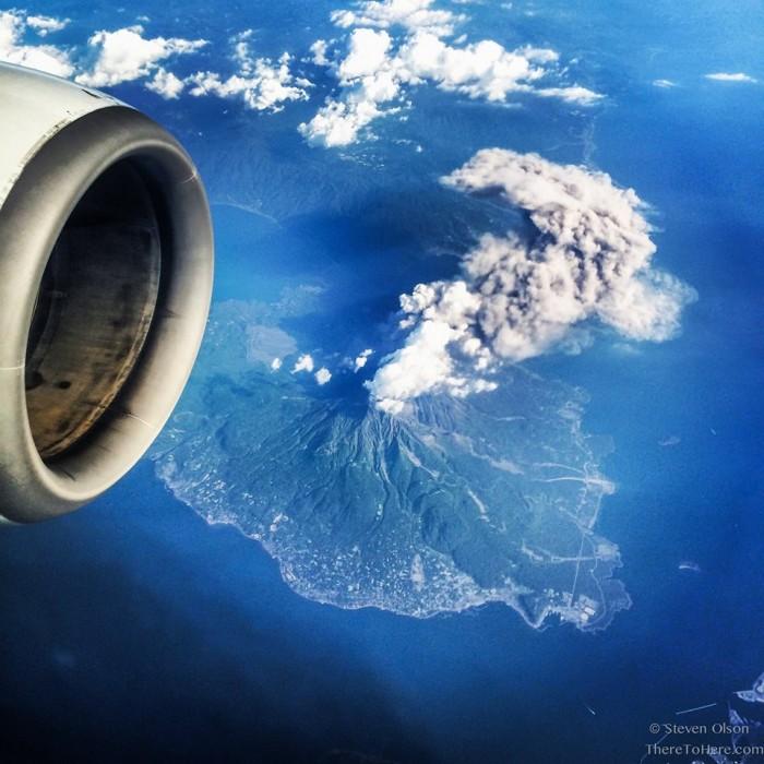 Amazing shot of Sakurajima volcano by Scott Olson