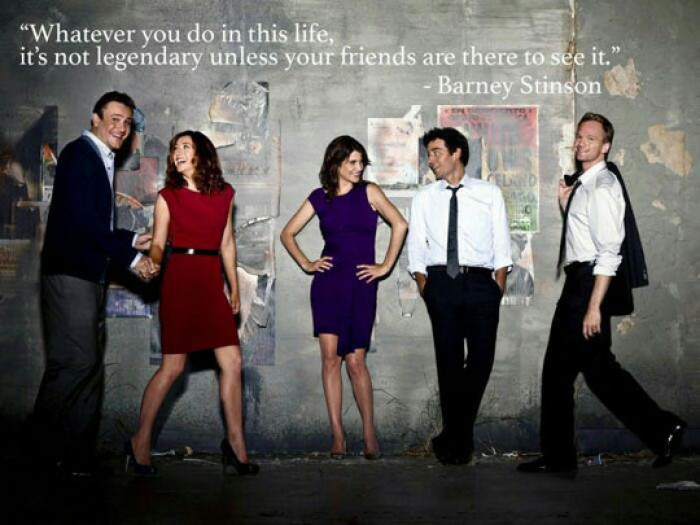 Barney Stinson - Whatever you do in this life...