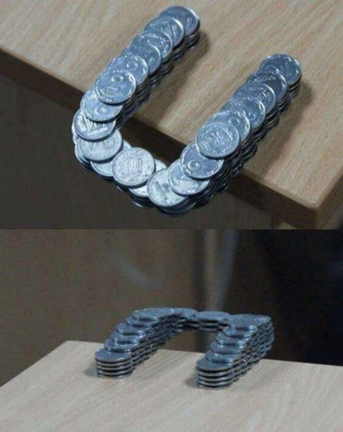 Coins safe structure