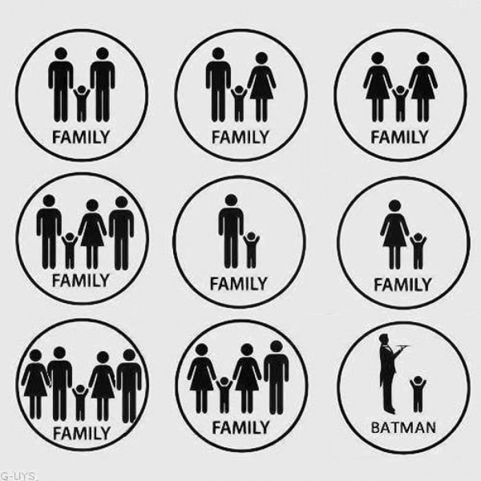 Family according to Batman
