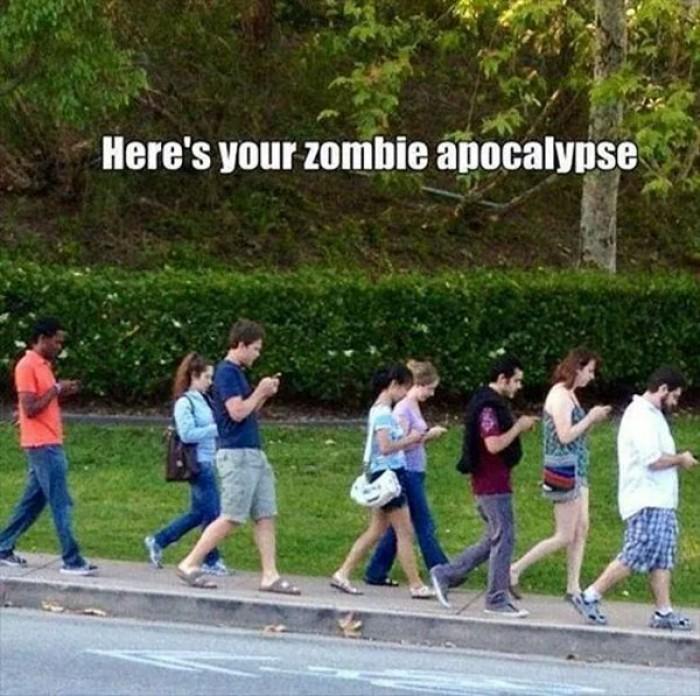 Here's your Zombie Apocalypse.