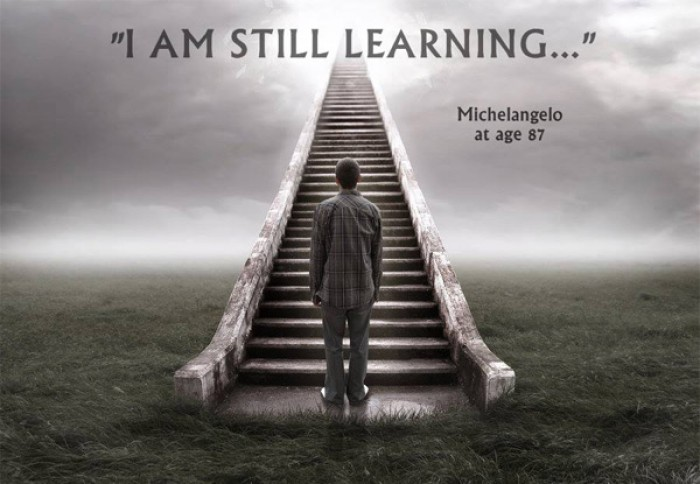 Michelangelo - I am still learning