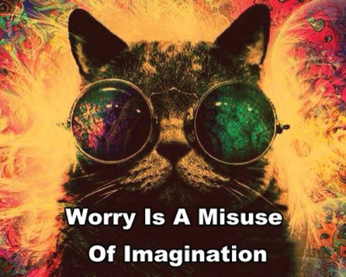 Dan Zadra - Worry is a misuse of imagination.