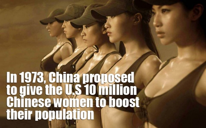 China has offered their women to U.S!?