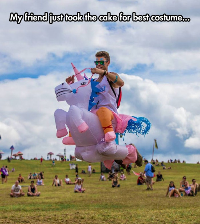 Amazing Unicorn Costume