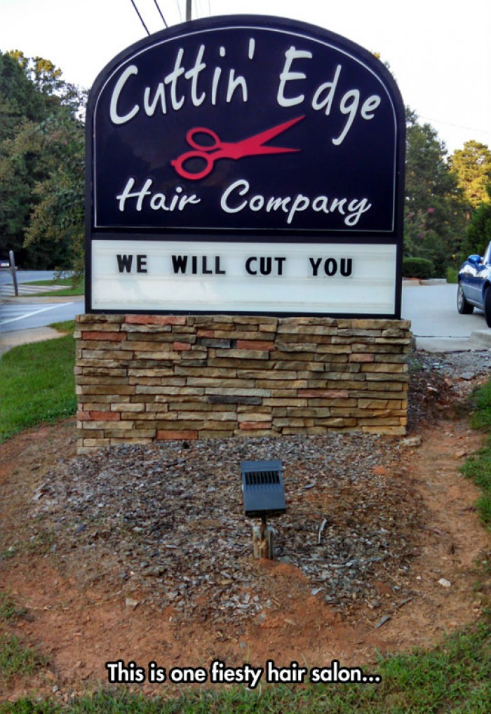 We Will Cut You Hair Salon