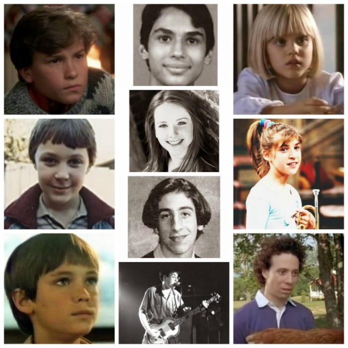 The Big Bang Theory crew when they were kids