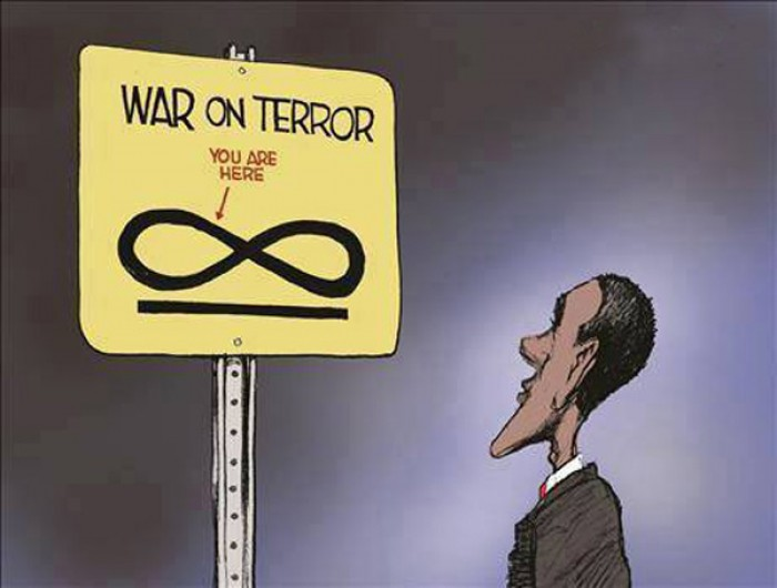War on terror, you are here!