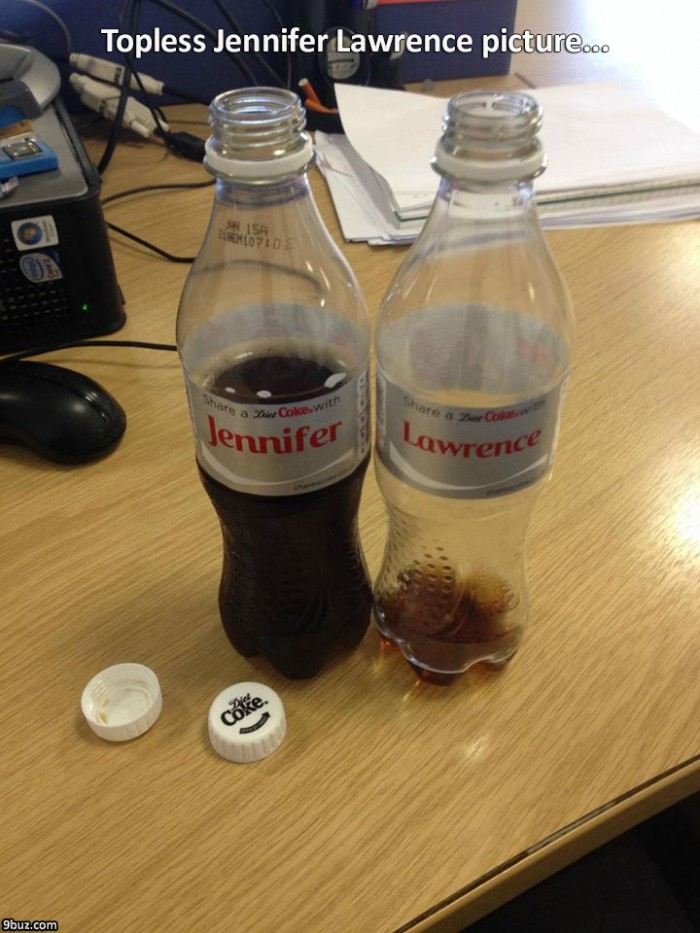 Topless Jennifer Lawrence picture...