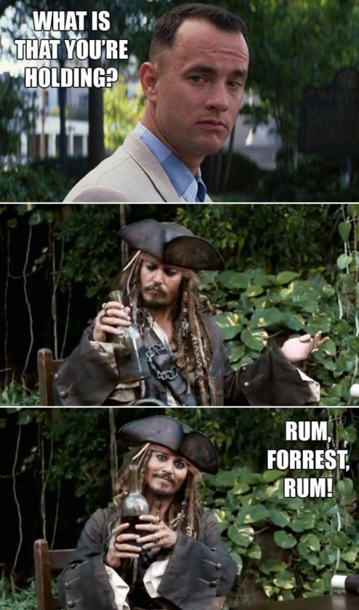 Rum, Forrest, Rum