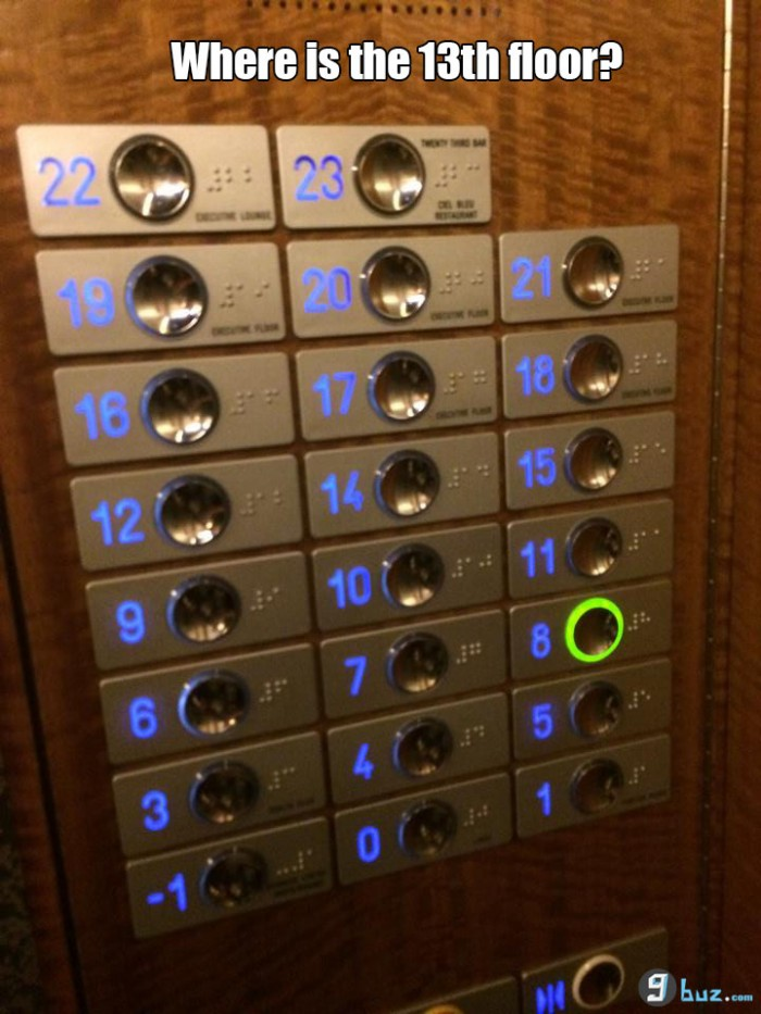 Where is the 13th floor?