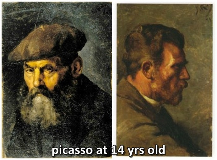 Pablo Picasso - It took me four years to paint like Raphael...