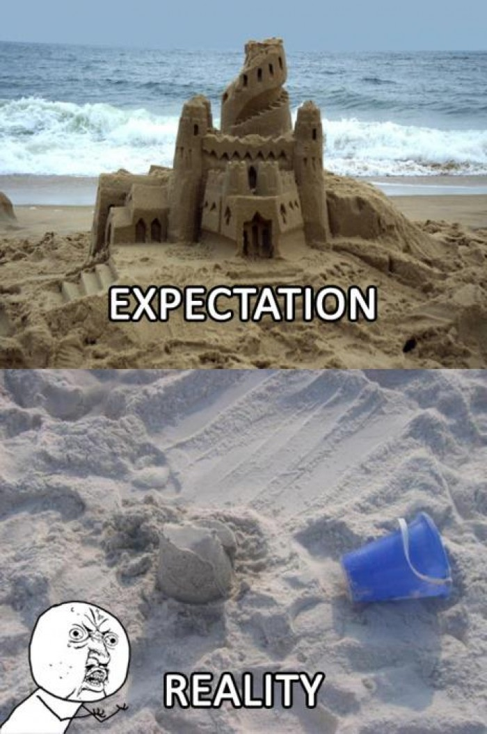Expectation Vs Reality