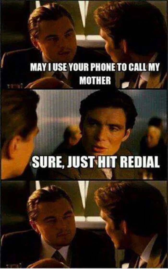 May i use your phone to call my mother?