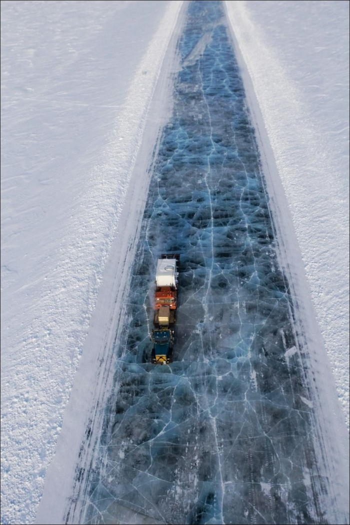 Ice Road...truckers!