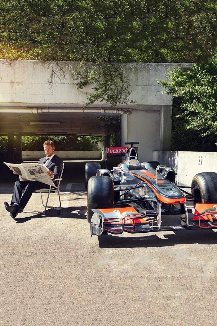 Jenson Button being a boss