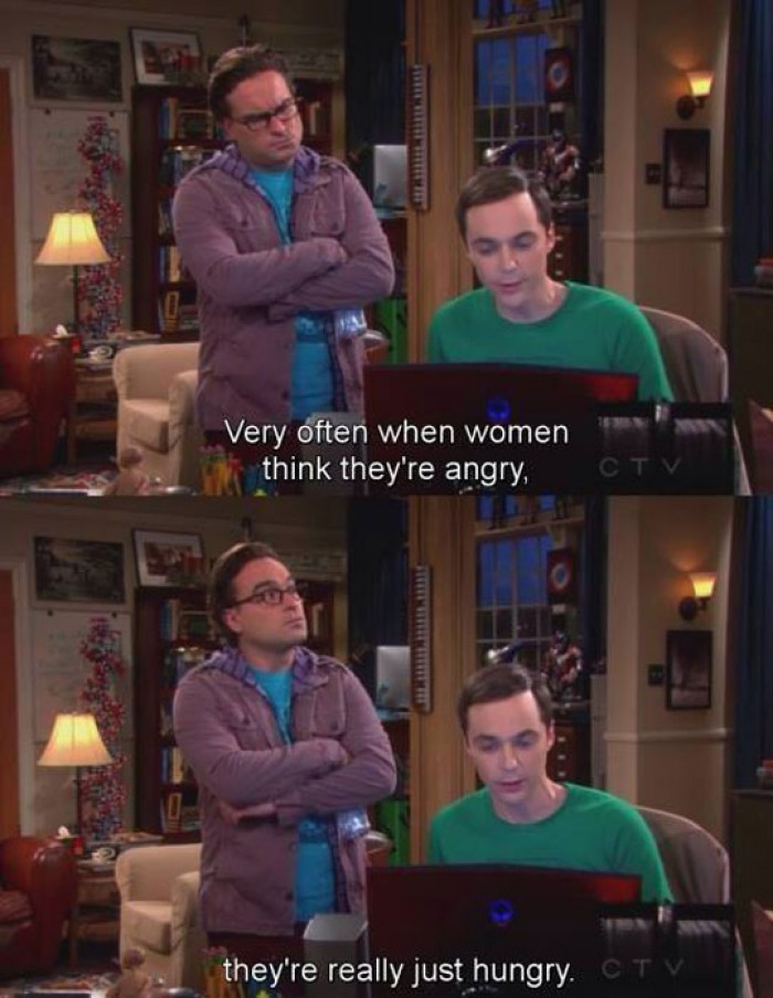 When Women Think They're Angry...