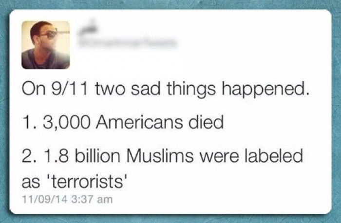 On 9/11 two sad things happened...