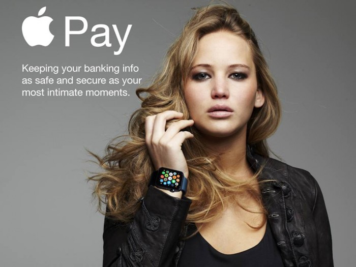 Jennifer Lawrence - Apple iWatch