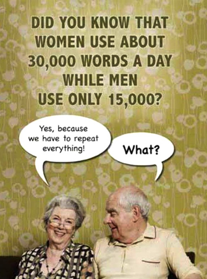 Did you know that women use...
