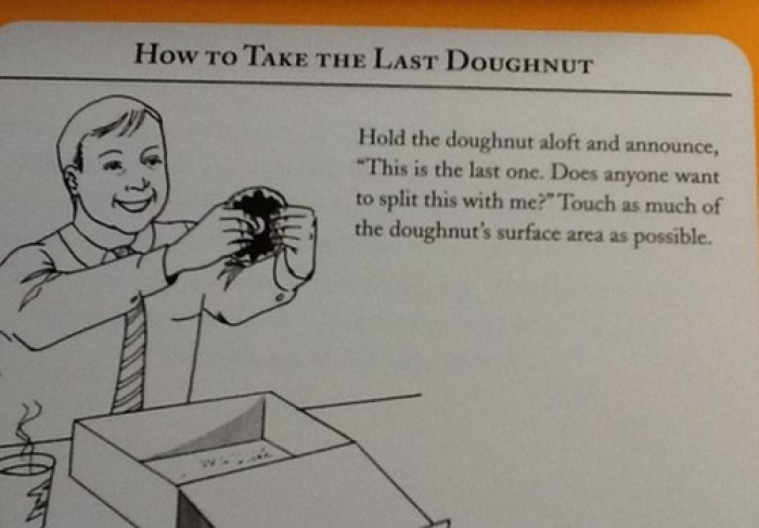 How To Take Last Doughnut