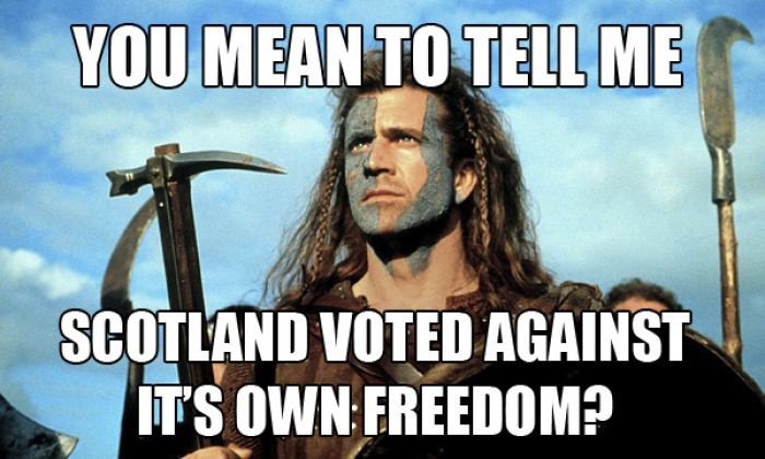 SCOTLAND VOTED AGAINST!?
