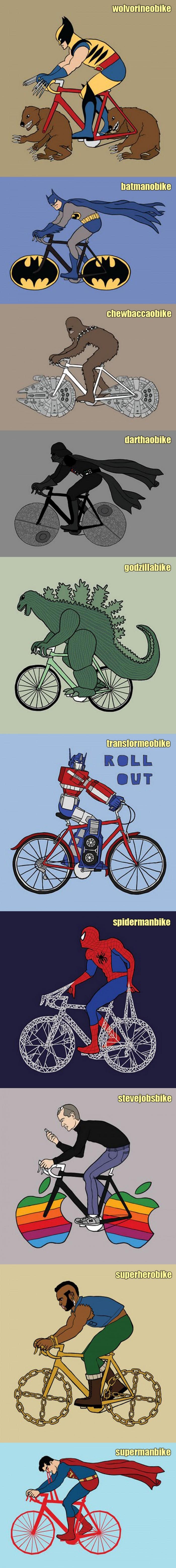 Super Heroes Bikes