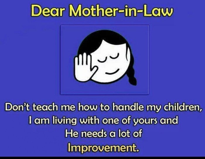Dear Mother-in-Law