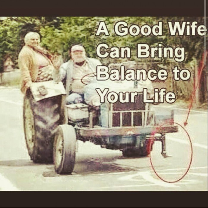 A Good Wife Can Bring Balance To Your Life