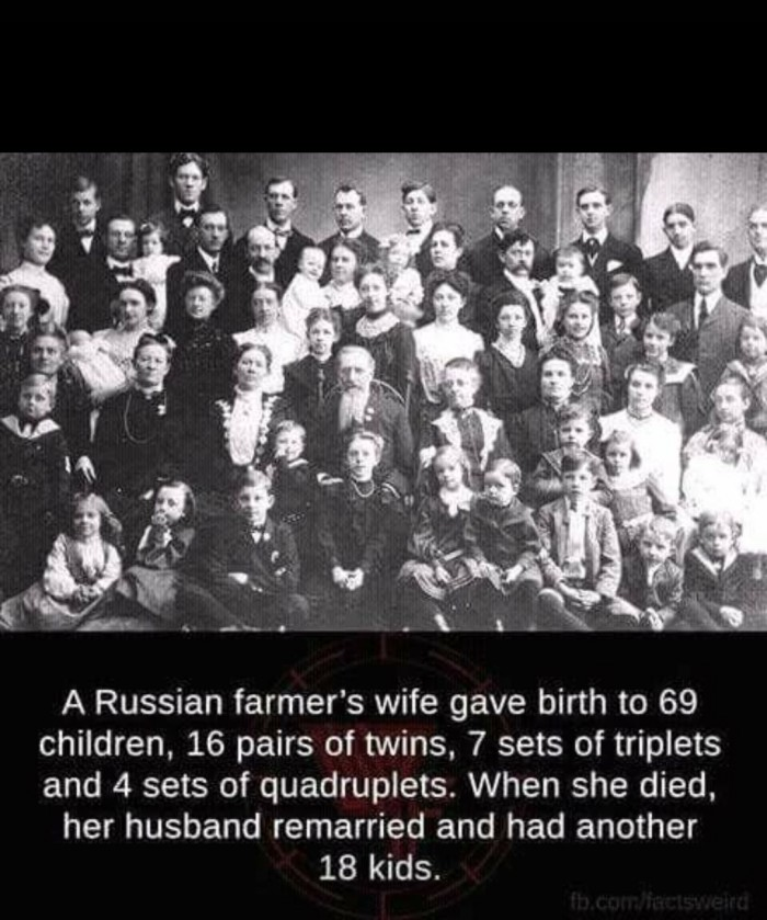 Big Russian family