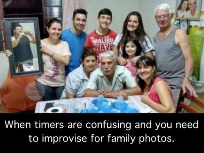 When timers are confusing on camera
