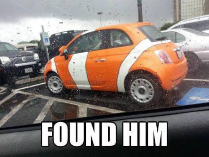 Found Nemo Car