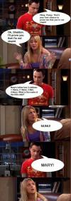 The Big Bang Theory -  Sheldon Penny Quiz - Okay, Penny. That's your last chance to prove me that you're not stupid