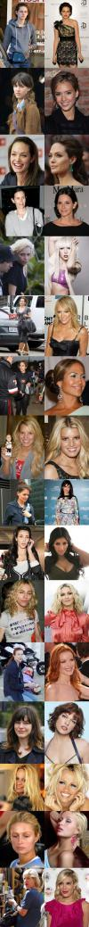 Celebrity Stars Without Makeup