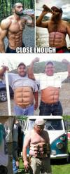 Close enough, six pack