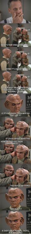 Ferengi view of tobacco problem...