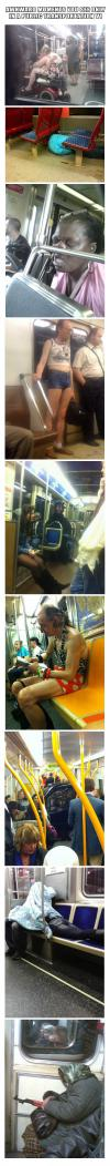 Awkward moments you see only in a public transportation V1